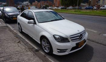 Usado Mercedes Benz Clase C 2013 completo